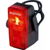 Lampka rowerowa tylna Sigma Cubic baterie