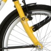 Alp widelec przód 20 Clubb PMS 810c żółty