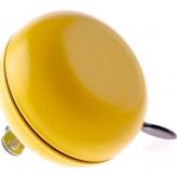 Dzwonek rowerowy ding dong NV 80mm żółty