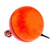 Dzwonek rowerowy ding dong NV 60mm pomarańczowy