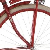Cort widelec przód 28 D Transp czerwony