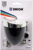 Lampka rowerowa przednia Union un-4925 retro czarna