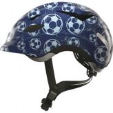 Kask rowerowy dziecięcy Abus Anuky M 52-57 blue soccer