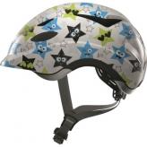Kask rowerowy dziecięcy Abus Anuky M 52-57 white star
