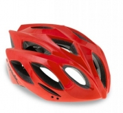 Kask rowerowy Spiuk Rhombus czerwony S/M