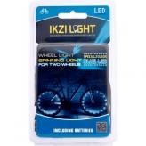 IKZI spaaklicht met 2x 20 led blauw