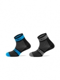 Skarpetki spiuk xp medium 2 par/pack blk-blu 40/43