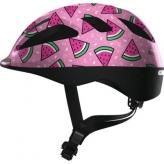 Kask rowerowy Abus Smooty różowy watermelon S 45-50