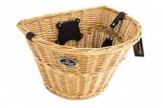 Koszyk rowerowy przedni wiklinowy Spencer