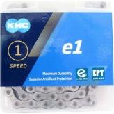 Łańcuch KMC E1 EPT 110og. Srebrny