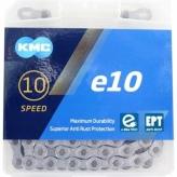 Łańcuch KMC E10 EPT 136og. Srebrny