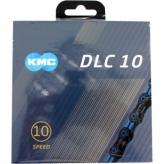 Łańcuch KMC DLC10 116og. Czarno-Niebieski