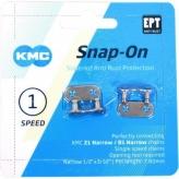 Spinki łańcucha KMC 1-rz. narrow EPT 2szt