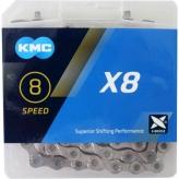 Łańcuch rowerowy KMC X8 114og. Srebrny