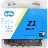 Łańcuch KMC Z1 112og. Brązowy