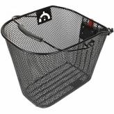 Koszyk HT-102-067 Przód;Stal;Clip;Czarny