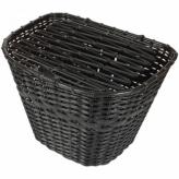 Koszyk HT-509 Przód;PVC;Pokrywa;Czarny