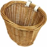 Koszyk rowerowy przedni HAOTU Basket wiklina