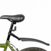 Błotnik rowerowy tylny do sztycy PCV czarny