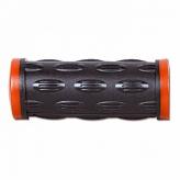 Chwyt rowerowy lewy HY-503-3G 75mm czarno-czerwony