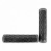 Chwyty rowerowe HY-988-3 125mm 2D czarno-szare