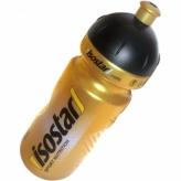 Bidon ISOSTAR 650ml;Pull-Push(Dziubek);ZŁOTY
