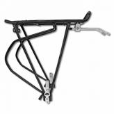 "Bagażnik rowerowy tylny Tranz X 26-28"" CD-37srebrny"