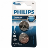 Bateria Philips CR2032 Litium 3V BLISTER 2szt.