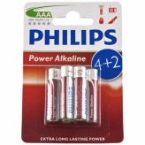 Bateria Philips LR03 Powerlife BLISTER 6 szt. AAA