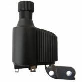 Prądnica NAL-P63L PCV;Lewa;6V/3W;Czarna