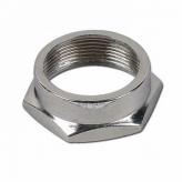 Nakrętka steru NA-009 Stal;Gwint25.4/21.1mm;CZARNA