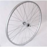 Koło rowerowe przednie 24 srebrne