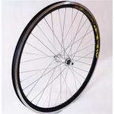 Koło rowerowe przednie 26 stożek czarne
