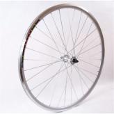 Koło rowerowe przednie 28 JOYSTAR-RD10F szosa srebrne