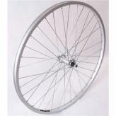 Koło rowerowe przednie 28 PAOA alu srebrne