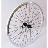 Koło rowerowe przednie 28 PAOP-QR alu stożek białe