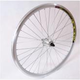 Koło rowerowe przednie 28 PAOP-QR alu stożek srebrne