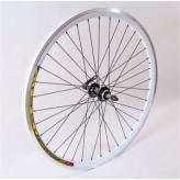 Koło rowerowe tylne 28 PAOP-QR stożek wolnobieg CZ/WH