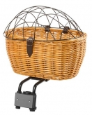 Koszyk rowerowy M-Wave wiklinowy 2 in 1