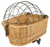 Koszyk rowerowy dla psa M-Wave Carrier wiklina