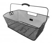 Kosz bagażowy m-wave z siatki tył czarny duży ( produkt na zamówienie )