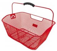 Koszyk rowerowy tylny M-Wave czerwony