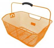 Koszyk rowerowy tylny M-Wave pomarańczowy