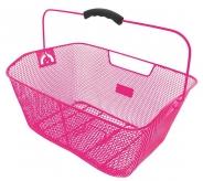 Koszyk rowerowy tylny M-Wave różowy