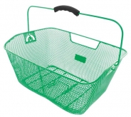Koszyk rowerowy tylny M-Wave tył zielony