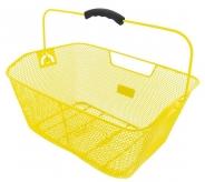 Kosz bagażowy m-wave z siatki tył żółty
