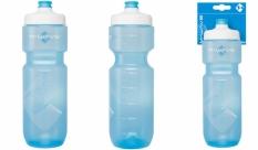 Bidon M-Wave 750ml plastikowy transparentny niebieski