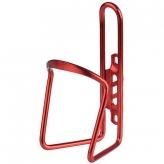 Koszyk na bidon aluminiowy czerwony 6mm