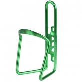 Koszyk na bidon aluminiowy zielony 6mm