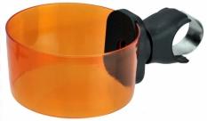 Uchwyt do kubka na kierownicę pomarańczowy